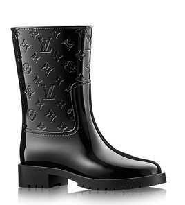 6739716dcb0 Louis Vuitton Drops Half Boot in high-shine rubber £345